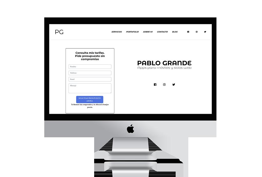 PabloGrande.es v1